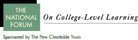 National Forum on College Level Learning Logo